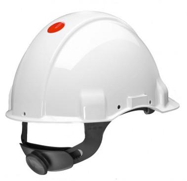 Sikkerhedshjelm G3000N HVID M/SKRUE
