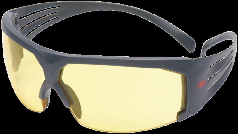 Beskyttelsesbrille SecureFit 600 gul glas