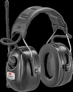 Høreværn m/DAB+ FM-radio, hovedbjl. HRXD...