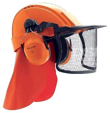 Sikkerhedshjelm G3000, med hjelm/hørev./...