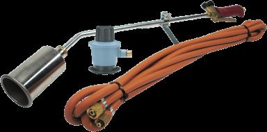 Tagbrændersæt Sievert komplet PR-5000