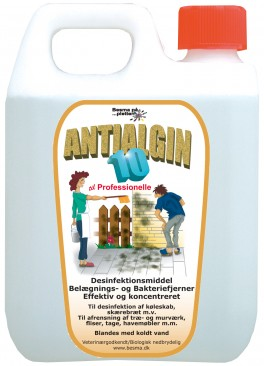 Afrensning Antialgin 10 10 liter