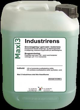 Industrirens Besma 20 ltr, Maxi 3