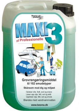 MAXI 3 UNIVERSIAL RENSEVÆSKE 10 LITER