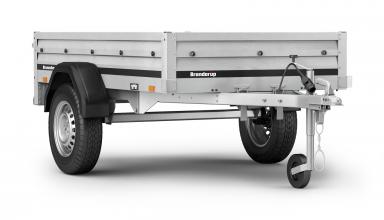Trailer Brenderup 1205 tip 750 kg