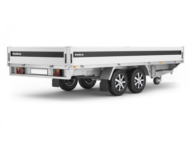 TRAILER BRENDERUP NY 5420 ATB 3500 KG BR...
