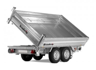 Trailer Brenderup 3 vejs tipper TT3500L