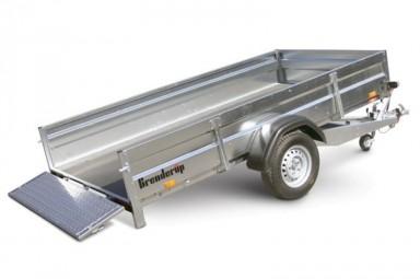 Trailer Brenderup 2300SB1300 med tip 14&...