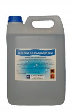Belægnings rens, afrensning - SB 5L