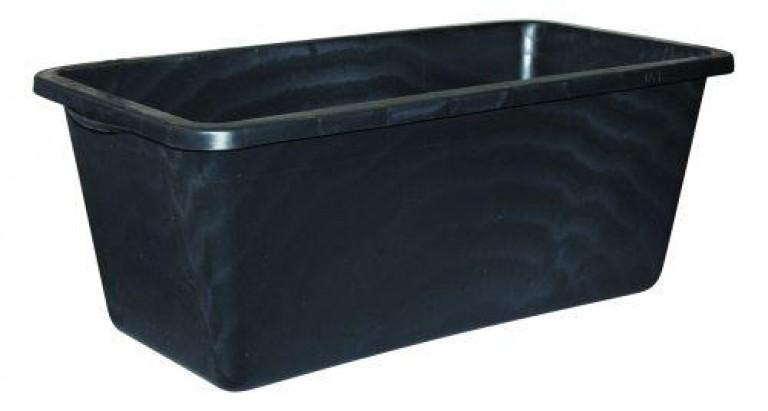 Balje firkantet sort 65 liter
