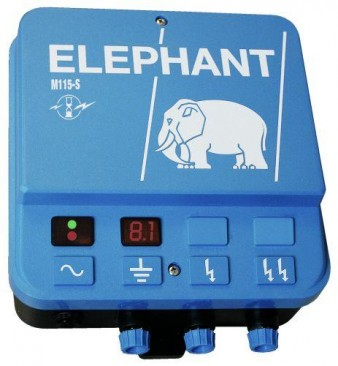 El-hegn NSH elefant M 115-D med display
