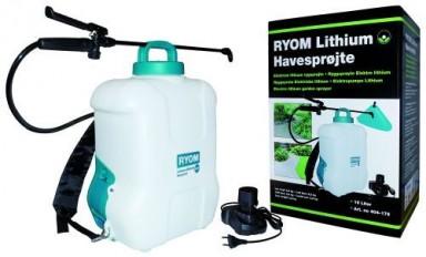 Elsprøjte med 12V lithium batteri 16 L