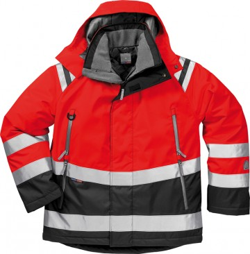 SOFTSHELL JAKKE KANSAS HIGH VIS XS-2XL