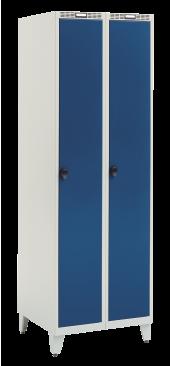 Garderobeskab Blika 2 søjler med pladebe...