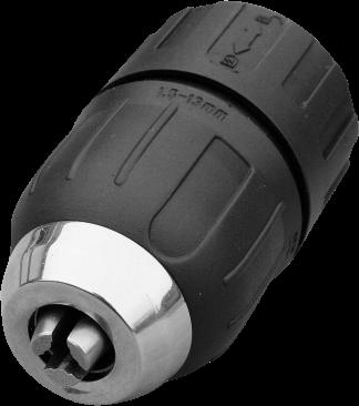 Borepatron 1,5 - 13 mm selvspændende
