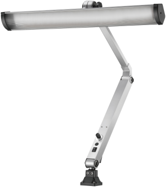 Arbejdslampe m/400×430mm arm LED 28W/230...