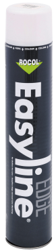 STRIBEMALING EASYLINE EDGE HVID 750