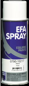 Efaspray hvid blank 400 ml
