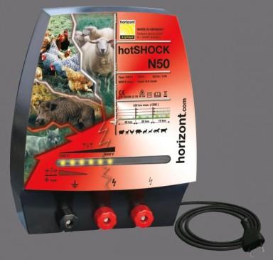 hotSHOCK N50, 230Volt - 6 Joule Horizont
