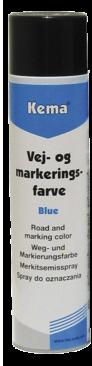 Kema Vej-og markeringsfarve blå 600 ml