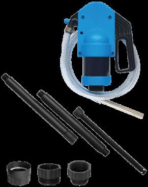 Pumpe manuel Kabi med adapter for 60 ltr...