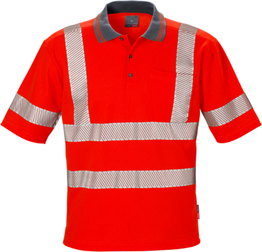 POLO T-SHIRT KANSAS HI-VIS KL. 3