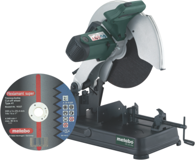 Metalafkorter Metabo CS 23-355 med kling...