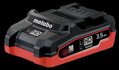 Batteri Metabo 18V 3,5 Ah LIHD