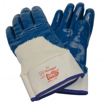 Handske Blue Grip med krave 815