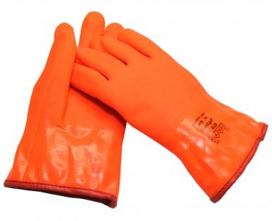 HANDSKE SNOWFLAKE PVC