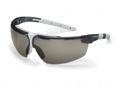Brille UVEX I-3, sort stel og grå linse