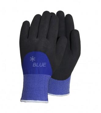 Vinterhandske Blue, allround 3/4 latex-d...
