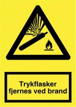 SKILT TRYKFL FJERNES V/BRAND A 322 P Y