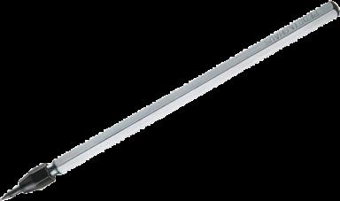 Ridsenål med udskftelig HM-spids 140 mm