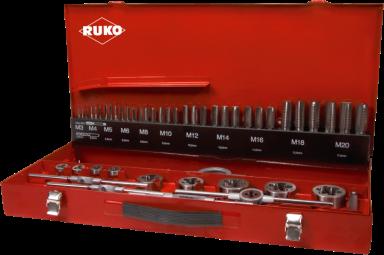 Gevindværktøjssæt Ruko HSS M3-M20