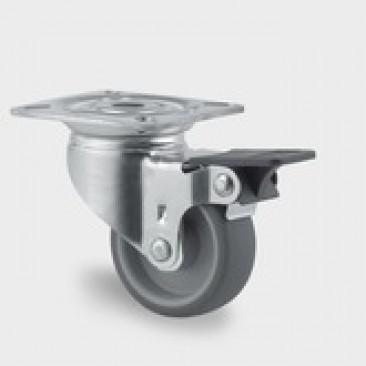 Hjul Tente  ø50 mm 2470 PJI 050 P40 drej...