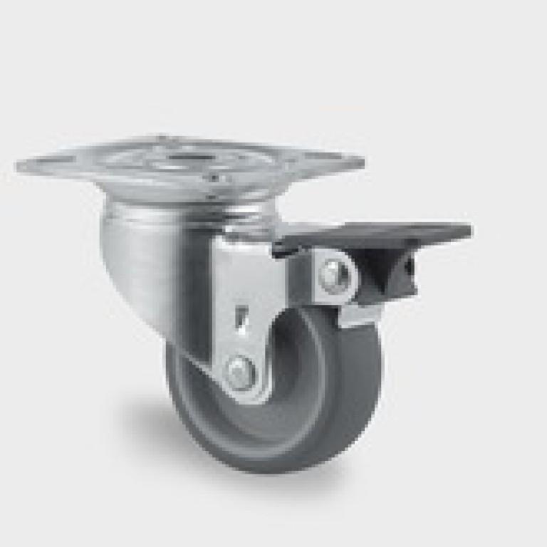 Hjul Tente  ø50 mm 2470 PJI 050 P40 drej