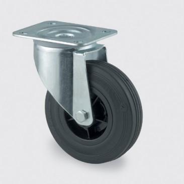 Hjul Tente drej ø160 mm 3470 PVR 160